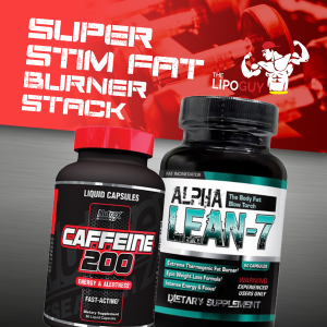 Alpha Lean-7 and Caffeine 200