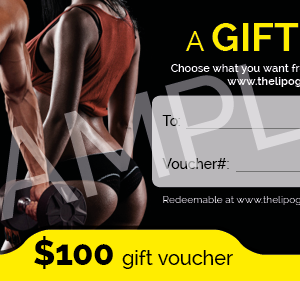 THELIPOGUY $100 Gift Voucher Card