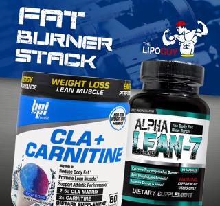 Alpha Lean-7 & BPI CLA + Carnitine, Fat Burner