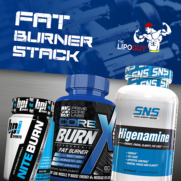 Core Burn X & Nite-Burn with SNS Higenamine