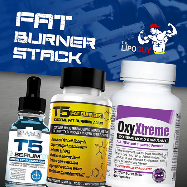 T5 Shredding Stack with Oxy Xtreme