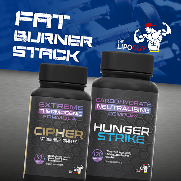 TLG Cipher Hunger Strike fat burner stack