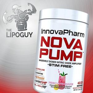 Innovapharm Novapump preworkout thelipoguy