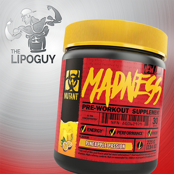 Madness mutant nation preworkout