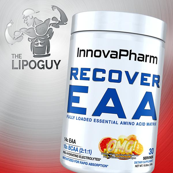 Recover_EAA innovapharm amino acids bcaa thelipoguy