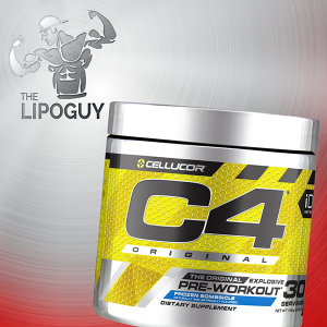 C4 ORIGINAL BY CELLUCOR PREWORKOUT THELIPOGUY