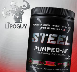 Steel Supplements Pumped AF preworkout thelipoguy