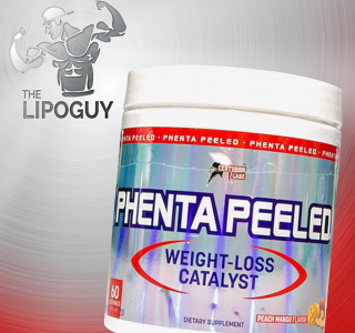 Phenta Peeled Centurion Labz thermogenic fat burner thelipoguy
