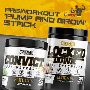 Condemned Labz Convict Elite Series Preworkout Locked Down