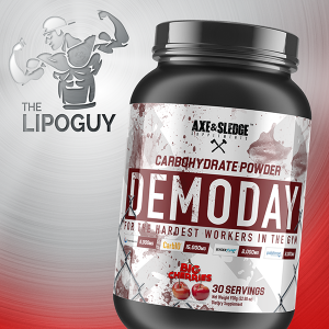 thelipoguy axe and sledge demo day carbohydrates