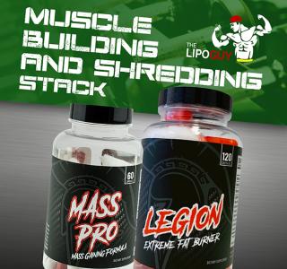 Centurion Labz Mass Pro Legion Stack