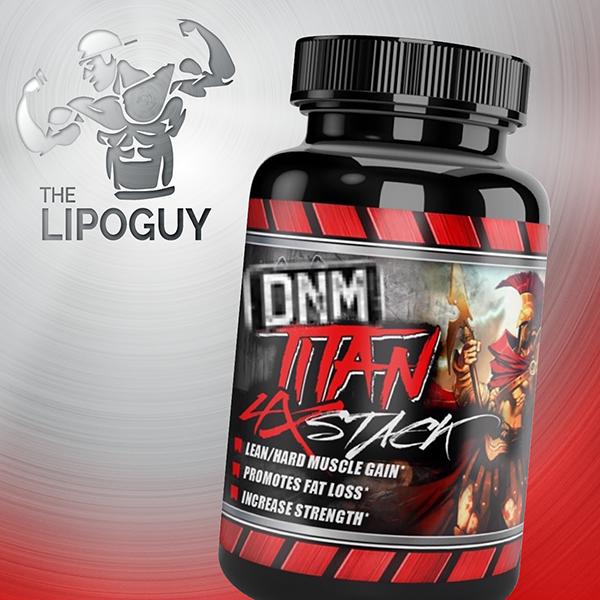 DNM Titan Quad Stack thelipoguy