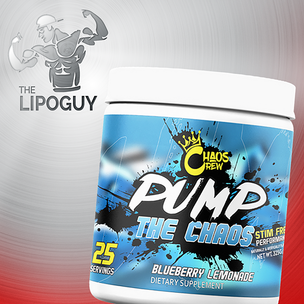 Pump The Chaos Preworkout thelipoguy chaos crew bring the chaos