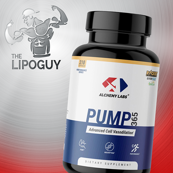 Alchemy Labs Pump 365 Nitric Oxiide supplement thelipopguy
