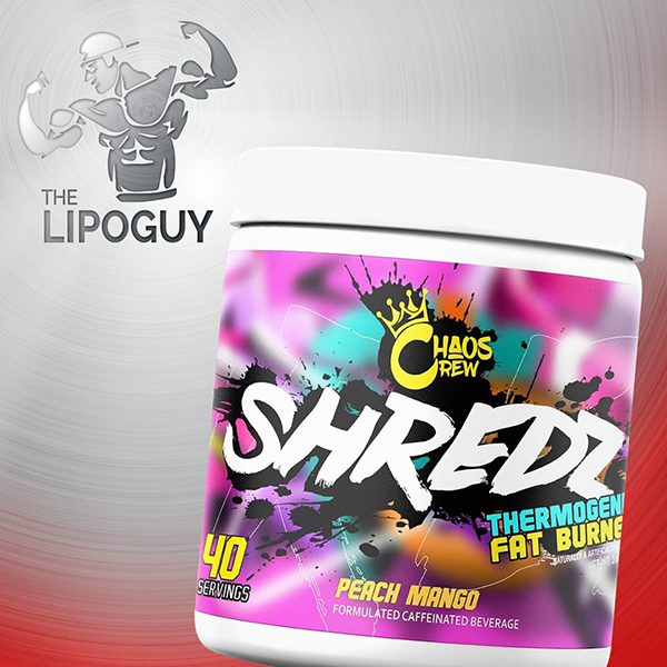 Chaos Crew Shredz fat burner powder thermogenic weight loss