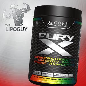 Core Nutritionals Fury X preworkout pump