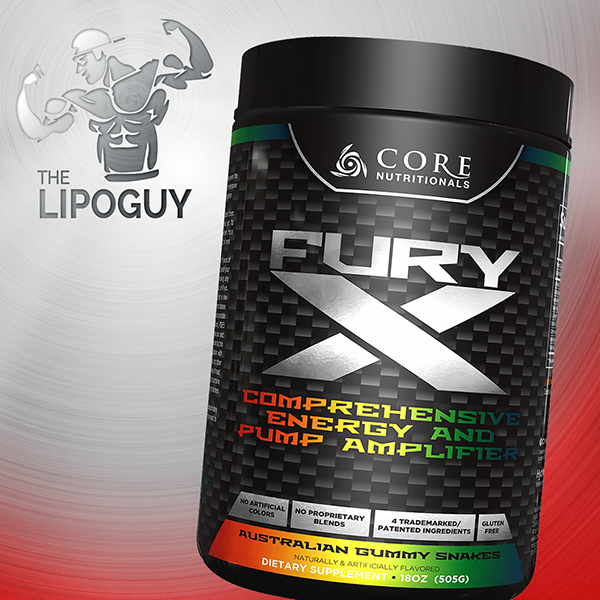 Core Nutritionals Fury X preworkout pump