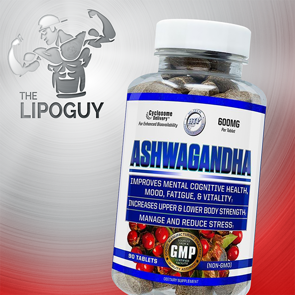 High Tech Pharma Ashwagandha thelipoguy