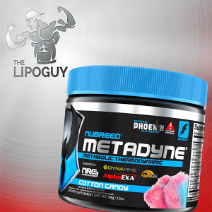 Nubreed Nutrition Metadyne fat burner thermo thelipoguy