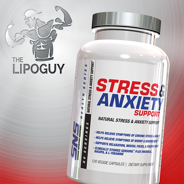 SNS Stress and Anxiety Support thelipoguy