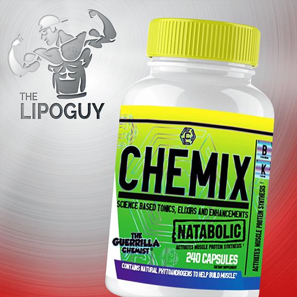 Chemix Natabolic test boosting thelipoguy