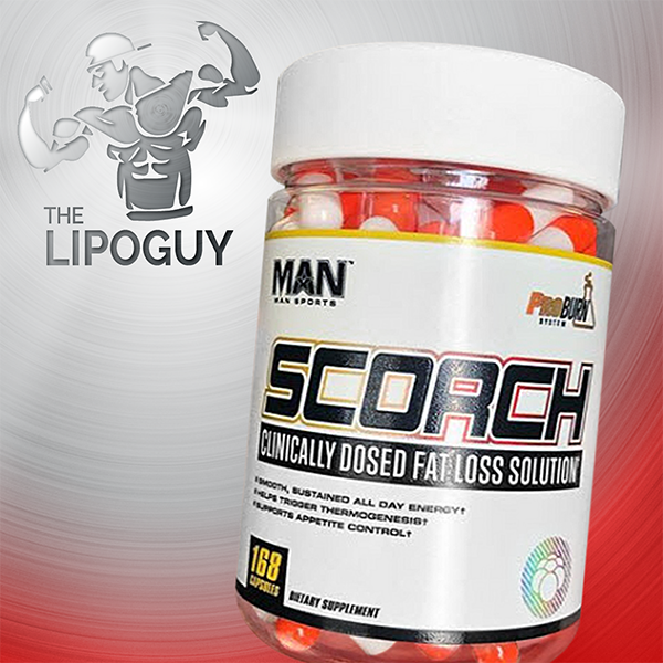 Man Sports Scortch capsules fat burner thelipoguy
