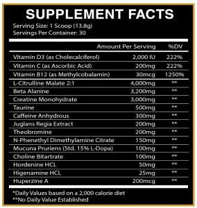 God_Of_Rage Centurion labz thelipoguy supplement facts