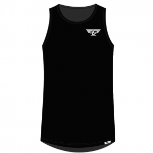 TLG Active TLG Mens Signature Training Tank - Black
