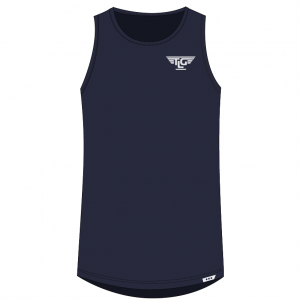 TLG Active TLG Mens Signature Training Tank - Navy