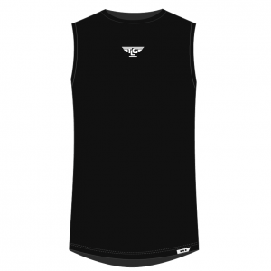 LG MENS SIGNATURE SLEEVELESS – BLACK