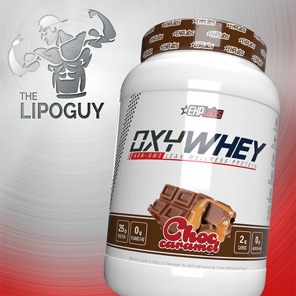 OxyWhey_ChocCaramel WHEY PROTEIN THELIPOGUY EHPLABS