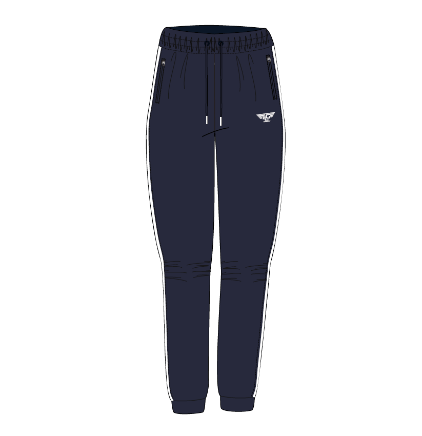 tlg active Tracksuit-1-Navy-Front