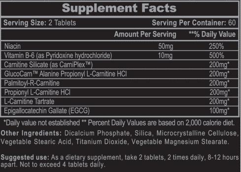 CarniSlim hi tech pharma thelipoguy