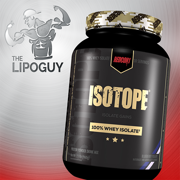 Redcon1 Isotop protein thelipoguy