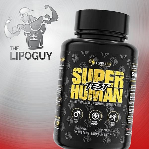 SuperHuman_Test alpha lion thelipoguy