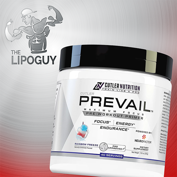 Prevail preworkout thelipoguy cutler nutrition
