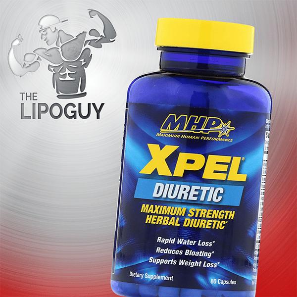 MHP Xpel Maximum Strength Diuretic Capsules, 80 Capsules